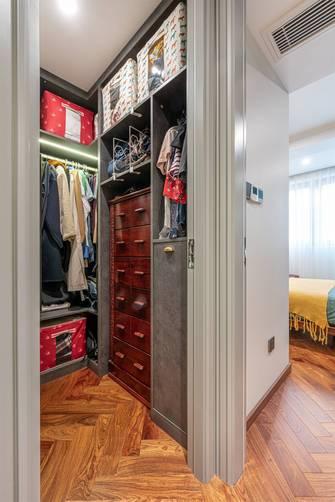 15-20万公寓美式风格衣帽间效果图