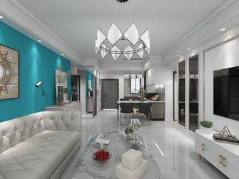 10-15万110平米三室一厅轻奢风格客厅效果图