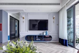 豪华型140平米三法式风格客厅装修图片大全