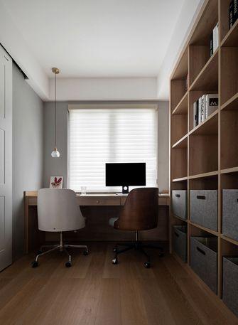 10-15万110平米三室两厅北欧风格书房图片