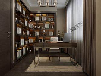 140平米三港式风格书房设计图