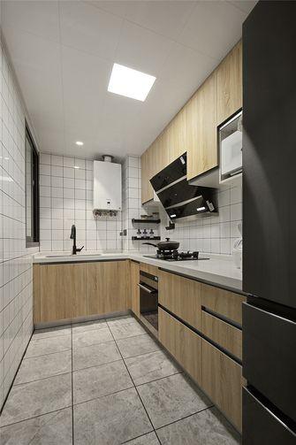 富裕型80平米日式风格厨房效果图