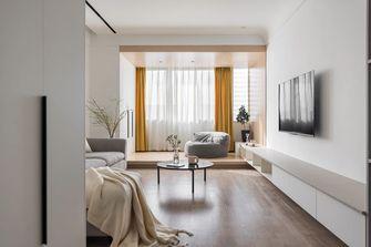 90平米日式风格客厅装修效果图