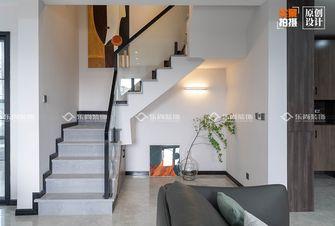豪华型140平米别墅现代简约风格楼梯间装修图片大全