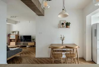 5-10万80平米三室两厅日式风格餐厅装修案例