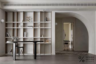 140平米三室一厅混搭风格书房装修图片大全
