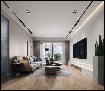10-15万140平米三室四厅现代简约风格客厅欣赏图