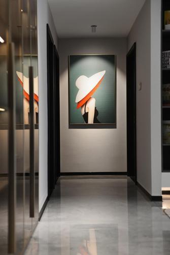 豪华型140平米四室两厅现代简约风格走廊装修图片大全