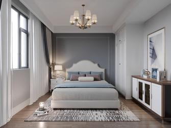 豪华型130平米三室一厅美式风格卧室装修案例