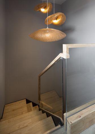 豪华型140平米三室两厅日式风格楼梯间装修效果图