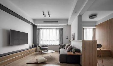 110平米三室三厅日式风格客厅装修图片大全