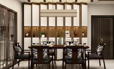 80平米欧式风格餐厅装修图片大全