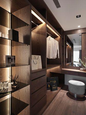 豪华型140平米三室两厅混搭风格衣帽间图