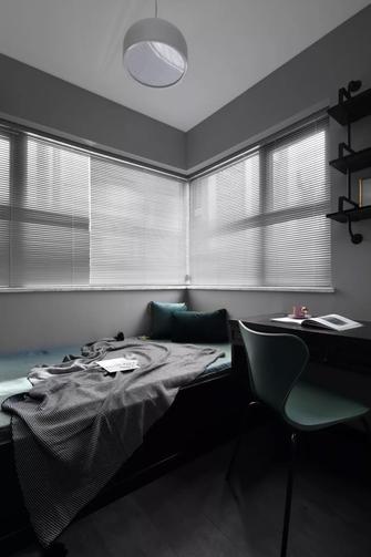富裕型90平米三室两厅轻奢风格书房装修案例