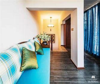 140平米别墅中式风格楼梯间设计图