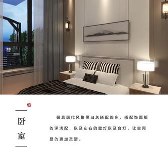 富裕型140平米四室两厅中式风格卧室图