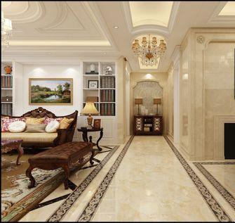 豪华型140平米三室一厅欧式风格走廊装修图片大全