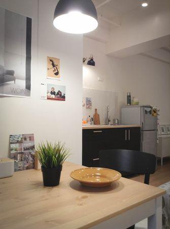 50平米公寓现代简约风格餐厅装修图片大全