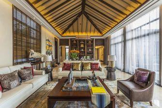 豪华型140平米别墅东南亚风格客厅装修效果图