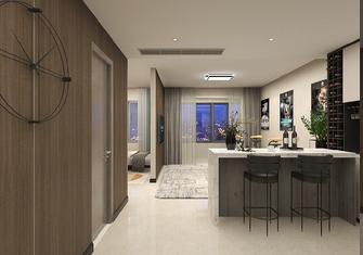 5-10万50平米一室一厅现代简约风格餐厅图片