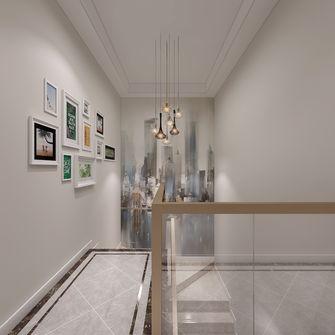 豪华型140平米四现代简约风格楼梯间装修图片大全