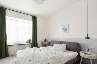 15-20万110平米三室两厅北欧风格卧室效果图