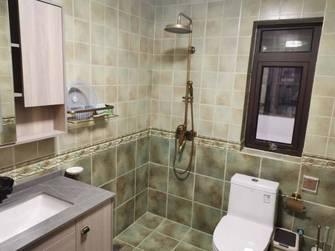富裕型140平米公寓美式风格卫生间图