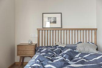 富裕型110平米三室两厅北欧风格卧室设计图
