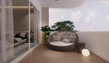 豪华型140平米三室一厅现代简约风格阳台效果图