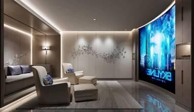 140平米四室两厅轻奢风格影音室欣赏图