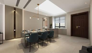 140平米四室六厅现代简约风格餐厅装修图片大全