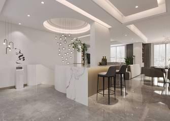 豪华型140平米四室三厅现代简约风格餐厅装修效果图