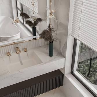 140平米别墅法式风格卫生间欣赏图