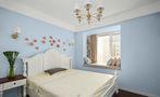 富裕型100平米三室两厅美式风格卧室欣赏图