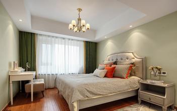 富裕型110平米三室两厅美式风格卧室图