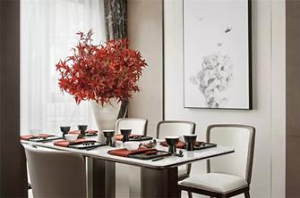 经济型100平米三室两厅新古典风格餐厅装修图片大全