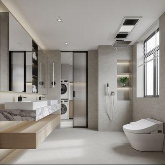 富裕型140平米复式现代简约风格卫生间图片