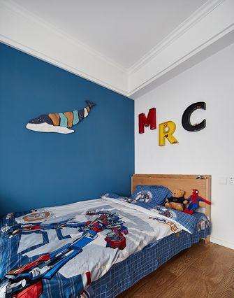 80平米欧式风格青少年房图片