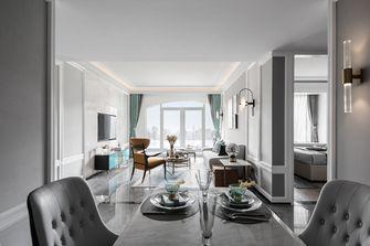120平米欧式风格餐厅设计图