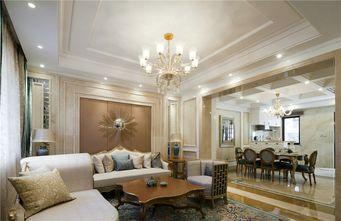 富裕型100平米欧式风格客厅设计图