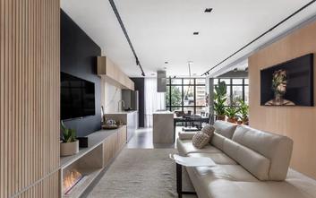 5-10万70平米公寓北欧风格客厅装修案例