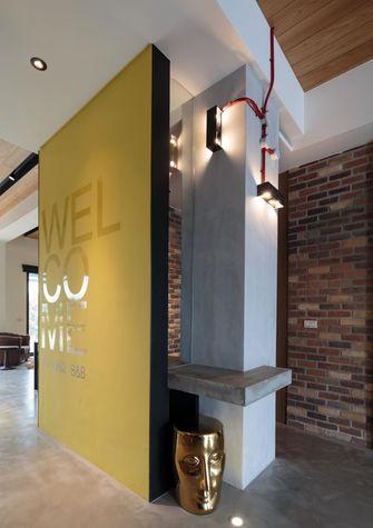 经济型110平米三室一厅工业风风格客厅装修效果图