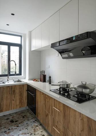 80平米三混搭风格厨房装修图片大全