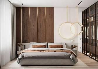 110平米一室一厅田园风格卧室图片大全