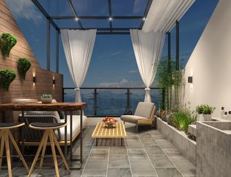 20万以上140平米别墅混搭风格阳光房装修案例