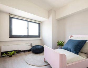 经济型50平米公寓混搭风格卧室效果图