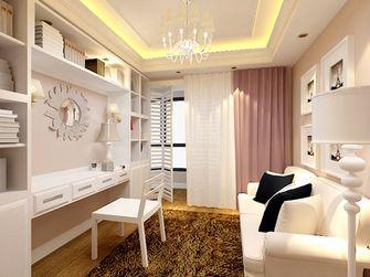 110平米三室两厅欧式风格书房效果图