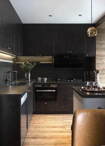 130平米四室一厅港式风格厨房装修图片大全