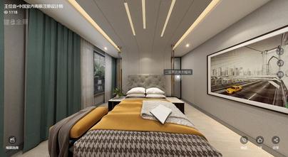 豪华型140平米别墅英伦风格卧室装修案例