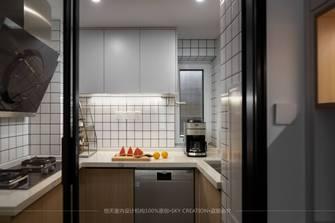 富裕型60平米北欧风格厨房设计图